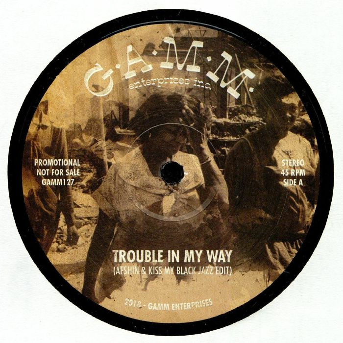 trouble in my way, gamm records