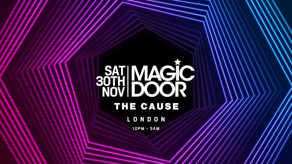 Magic Door - The Cause - Sat 30th Nov 2019, London.jpg
